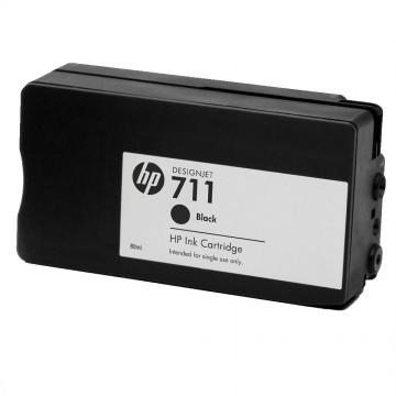 HP 711 Black | CZ133A оригинальный струйный картридж - черный, 80 мл