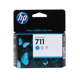 CZ130A HP 711 Cyan оригинальный струйный картридж HP голубой, ресурс - 29 ml