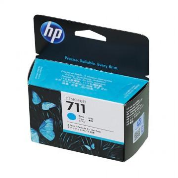 HP 711 Cyan | CZ134A оригинальный струйный картридж - голубой, 3 x 29 мл