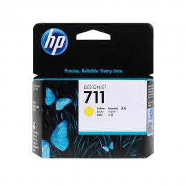 CZ132A HP 711 Yellow оригинальный струйный картридж HP жёлтый, ресурс - 29 ml