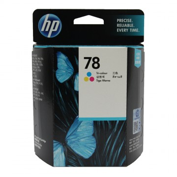 C6578AE HP 78AE Color оригинальный струйный картридж HP цветной, ресурс - 1200 страниц