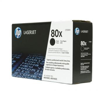 CF280X HP 80X оригинальный лазерный картридж HP чёрный, ресурс - 6800 страниц