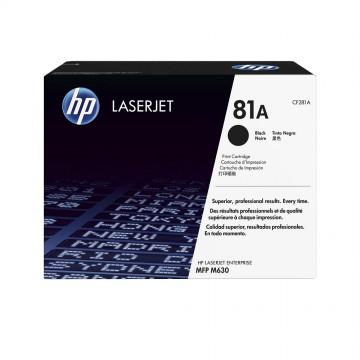 HP 81A Black | CF281A оригинальный лазерный картридж - черный, 10500 стр