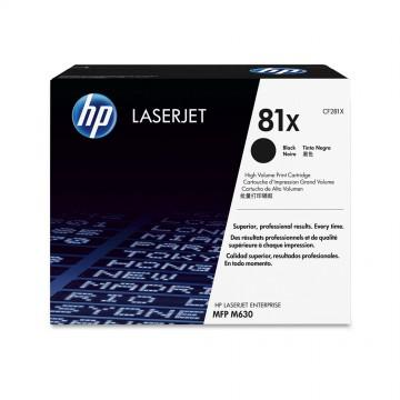 HP 81X Black | CF281X оригинальный лазерный картридж - черный, 25000 стр
