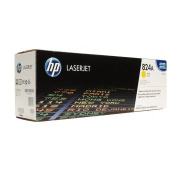 HP 824A Yellow | CB382A оригинальный лазерный картридж - желтый, 21000 стр