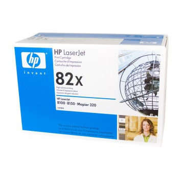 C4182X HP 82X оригинальный лазерный картридж HP чёрный, ресурс - 20000 страниц