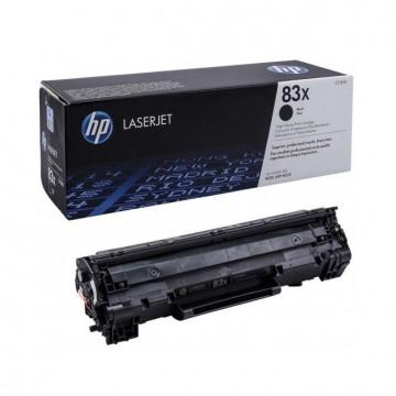CF283X HP 83X оригинальный лазерный картридж HP чёрный, ресурс - 2200 страниц
