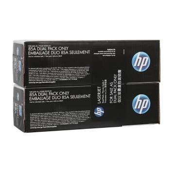 CE285AF HP 85AF оригинальный лазерный картридж HP чёрный, ресурс - 2 * 1600 страниц