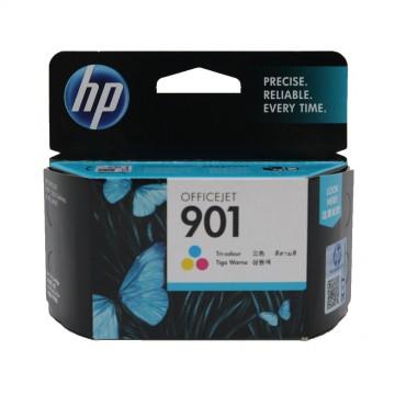 HP 901 Color | CC656AE оригинальный струйный картридж - цветной, 360 стр