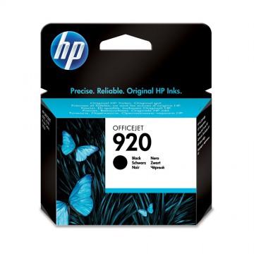 CD971AE HP 920 Black оригинальный струйный картридж HP чёрный, ресурс - 420 страниц