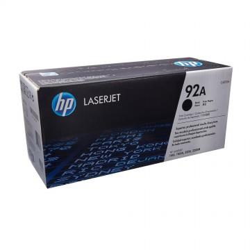 C4092A HP 92A оригинальный лазерный картридж HP чёрный, ресурс - 2500 страниц