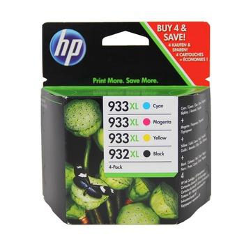HP 932 XL + 933 XL pack | C2P42AE оригинальный струйный картридж - набор цветной + черный, 1000 стр