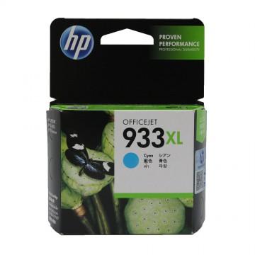HP 933 XL Cyan | CN054AE оригинальный струйный картридж - голубой, 825 стр