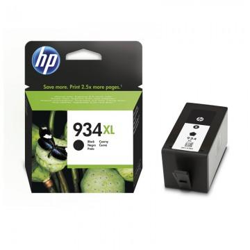 HP 934 XL Black | C2P23AE оригинальный струйный картридж - черный, 1000 стр
