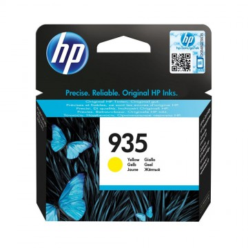 HP 935 Yellow | C2P22AE оригинальный струйный картридж - желтый , 400 стр