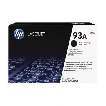 CZ192A HP 93A оригинальный лазерный картридж HP чёрный, ресурс - 12000 страниц