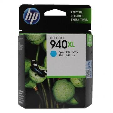 C4907AE HP 940 XL Cyan оригинальный струйный картридж HP голубой, ресурс - 1400 страниц