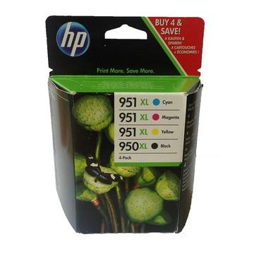 HP 950 XL + 951 XL pack | C2P43AE оригинальный струйный картридж - набор цветной + черный, 1000 стр