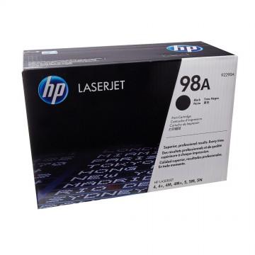 HP 98A Black | 92298A оригинальный лазерный картридж - черный, 6800 стр