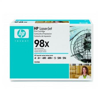 92298X HP 98X оригинальный лазерный картридж HP чёрный, ресурс - 8800 страниц