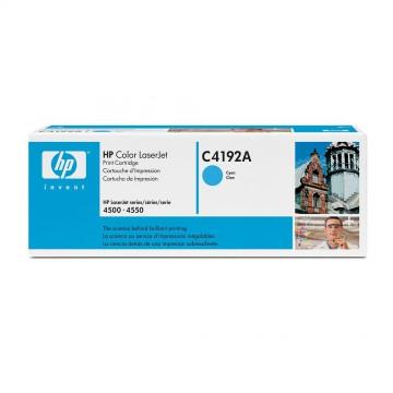 C4192A HP C4192A оригинальный лазерный картридж HP голубой, ресурс - 6000 страниц