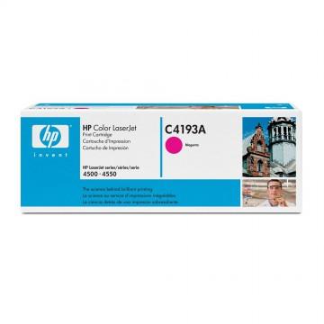 C4193A HP C4193A оригинальный лазерный картридж HP пурпурный, ресурс - 6000 страниц