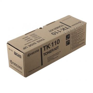 Kyocera TK-110 | 1T02FV0DE0 оригинальный тонер картридж - черный, 6000 стр