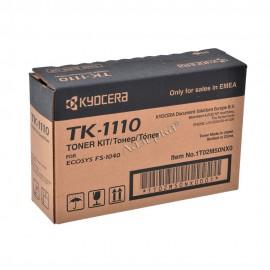 TK-1110 оригинальный лазерный тонер картридж Kyocera черный, ресурс - 2500 страниц
