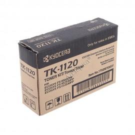 TK-1120 оригинальный лазерный тонер картридж Kyocera черный, ресурс - 3000 страниц