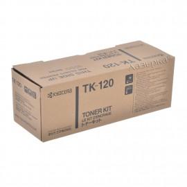 TK-120 оригинальный лазерный тонер картридж Kyocera черный, ресурс - 7200 страниц