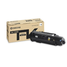 TK-1200 оригинальный лазерный тонер картридж Kyocera черный, ресурс - 3000 страниц