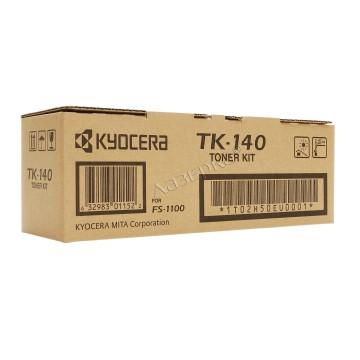 TK-140 оригинальный лазерный тонер картридж Kyocera черный, ресурс - 4000 страниц