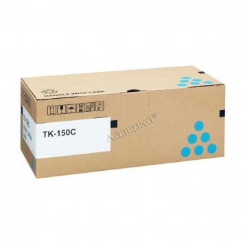 Kyocera TK-150C | 1T05JKCNL0 оригинальный тонер картридж - голубой , 6000 стр