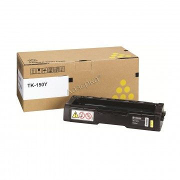 Kyocera TK-150Y | 1T05JKANL0 оригинальный тонер картридж - желтый , 6000 стр