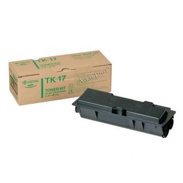 TK-17 оригинальный лазерный тонер картридж Kyocera черный, ресурс - 6000 страниц