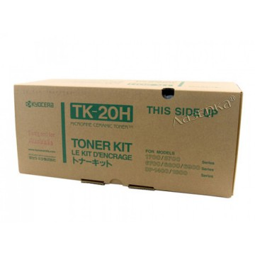 Kyocera TK-20H | 370PV011 оригинальный тонер картридж - черный, 20000 стр