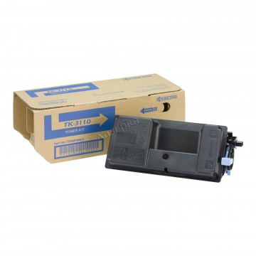 TK-3110 оригинальный лазерный тонер картридж Kyocera черный, ресурс - 15500 страниц