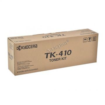 TK-410 оригинальный лазерный тонер картридж Kyocera черный, ресурс - 15000 страниц