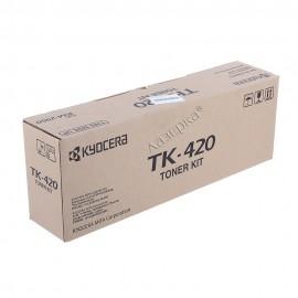 TK-420 | 370AR011 (Kyocera) тонер картридж - 15000 стр, черный