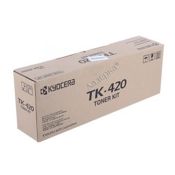 Kyocera TK-420 | 370AR011 оригинальный тонер картридж - черный, 15000 стр