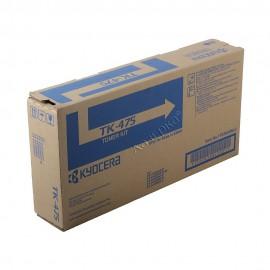 TK-475 оригинальный лазерный тонер картридж Kyocera черный, ресурс - 15000 страниц