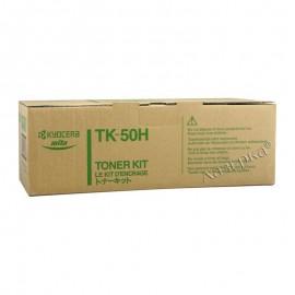 TK-50H оригинальный лазерный тонер картридж Kyocera черный, ресурс - 15000 страниц