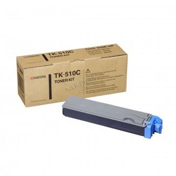 Kyocera TK-510C | 1T02F3CEU0 оригинальный тонер картридж - голубой , 8000 стр