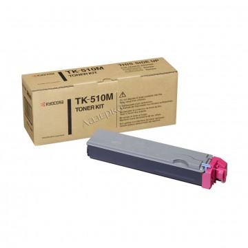 Kyocera TK-510M | 1T02F3BEU0 оригинальный тонер картридж - пурпурный , 8000 стр