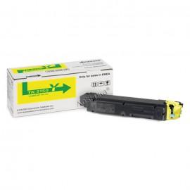 TK-5150Y оригинальный лазерный тонер картридж Kyocera желтый, ресурс - 10000 страниц