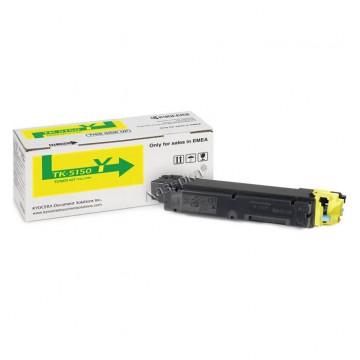 Kyocera TK-5150Y | 1T02NSANL0 оригинальный тонер картридж - желтый, 10000 стр