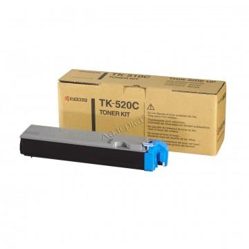 Kyocera TK-520C | 1T02HJCEU0 оригинальный тонер картридж - голубой, 4000 стр