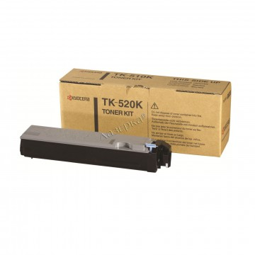 Kyocera TK-520K   1T02HJ0EU0 оригинальный тонер картридж - черный, 6000 стр