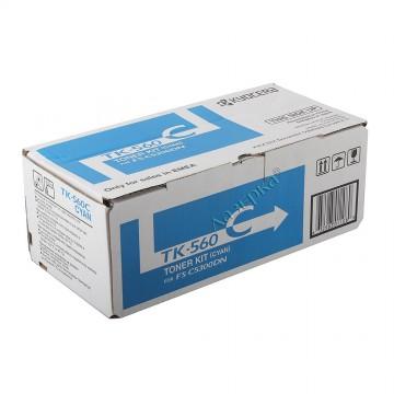 Kyocera TK-560C   1T02HNCEU0 оригинальный тонер картридж - голубой , 10000 стр