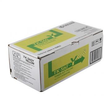 Kyocera TK-560Y | 1T02HNAEU0 оригинальный тонер картридж - желтый , 10000 стр